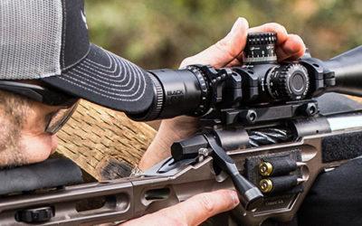 New from Nikon: BLACK FX1000 Riflescopes