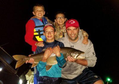 Mason Barney August 2019 Lake Trout